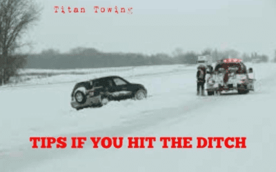 HERE ARE SOME TIPS IF YOU HIT THE DITCH